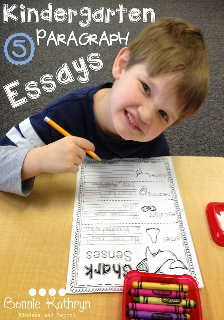 Turn Kindergarten Writing into Kindergarten Essays