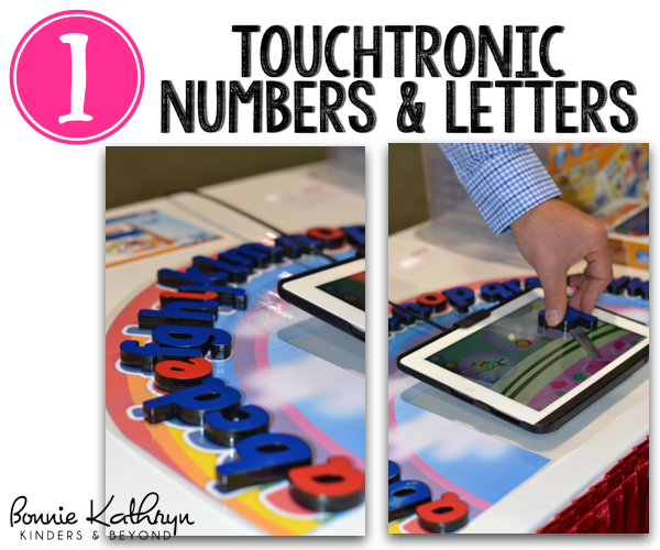 Touchtronic Numbers and Letters