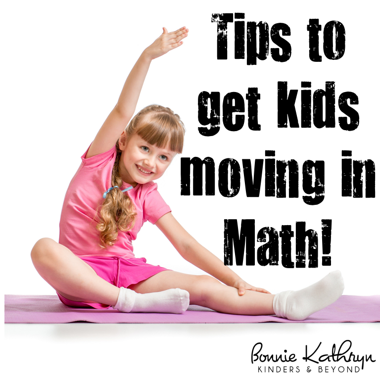 Tips to Get Kids Moving in Math