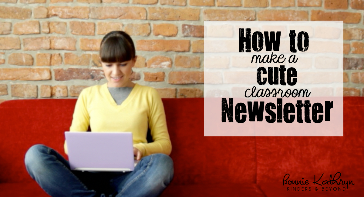 How to Make a Cute Newsletter